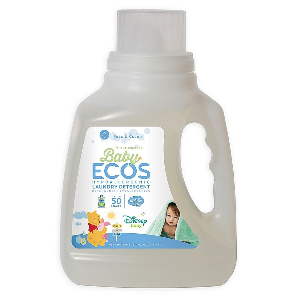 Disney Baby Baby Ecos Free Clear 50 Ounce Laundry Detergent