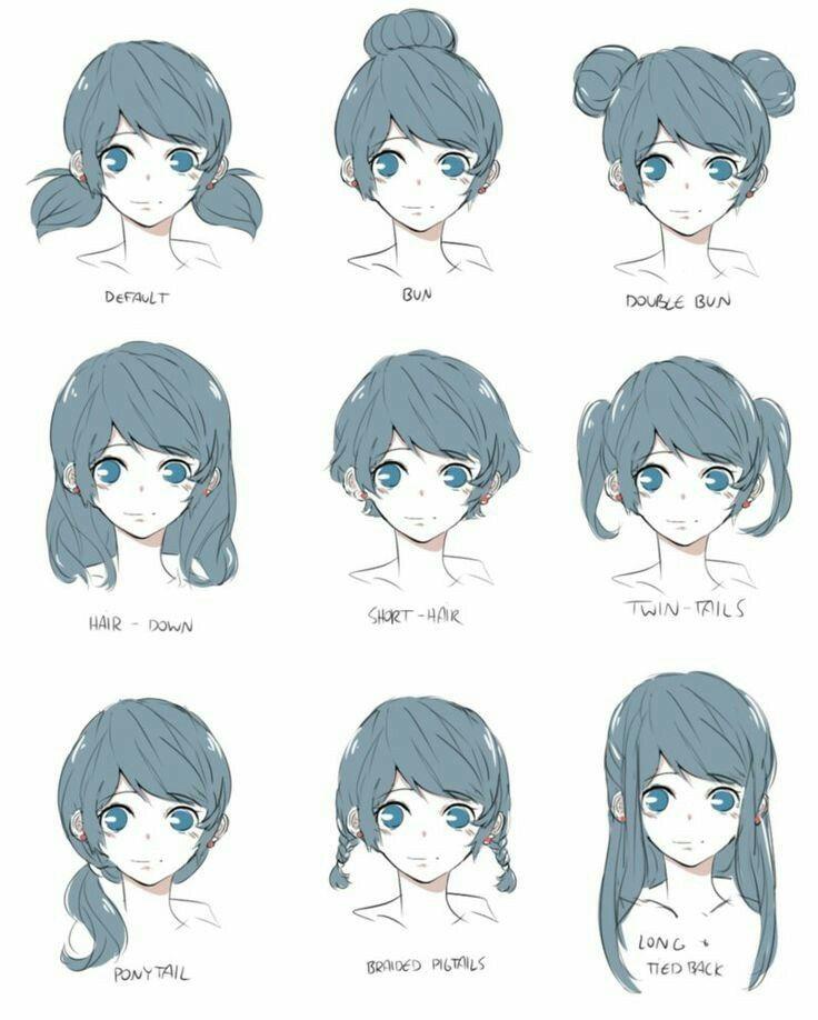 pin draw manga anime