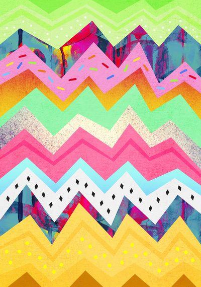 artistic chevron pattern colorful art color pattern chevron colour