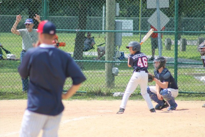 South Jersey Baseball League Southern Grand Slam Tournament Manahawkin Nj July 2013 Baseball League Club Baseball Soccer Field
