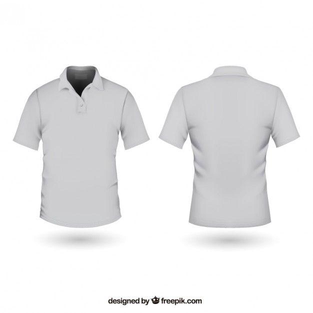 Camisa polo Vector Gratis  a0f31a2012a