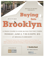 Buying into Brooklyn: A Crash Course in Home Buying for...