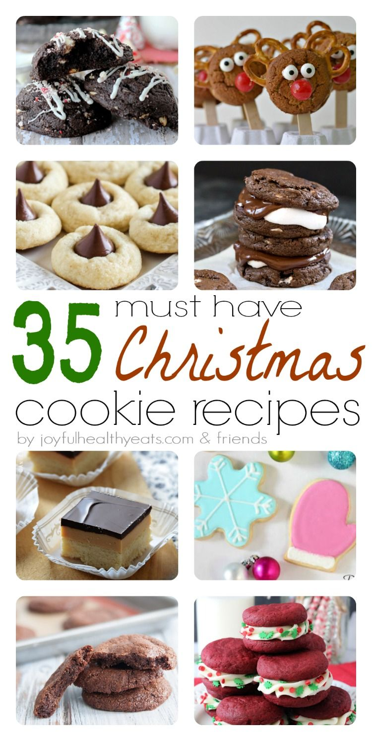 35 Must Have Christmas Cookies Recipes   DIY Ideas   Pinterest ...