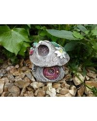 Strawberry Cottage Fairy House