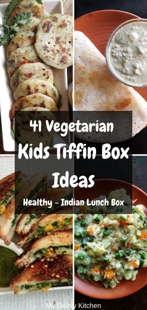 45 Kids Tiffin Box Recipes - My Dainty Kitchen
