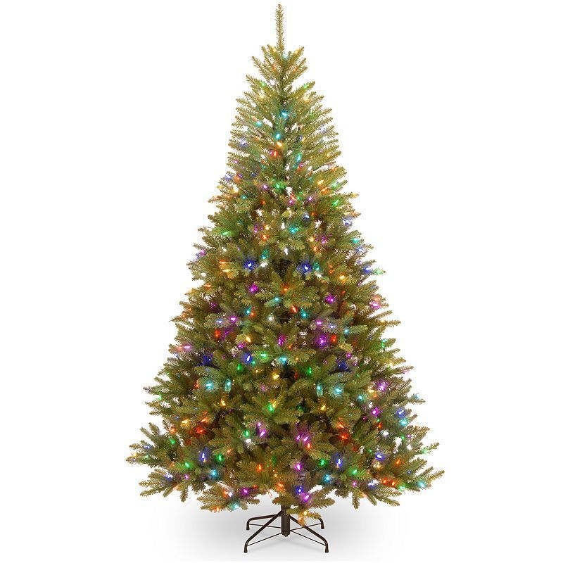 National Tree Company 7.5ft. Dunhill Fir Hinged PreLit