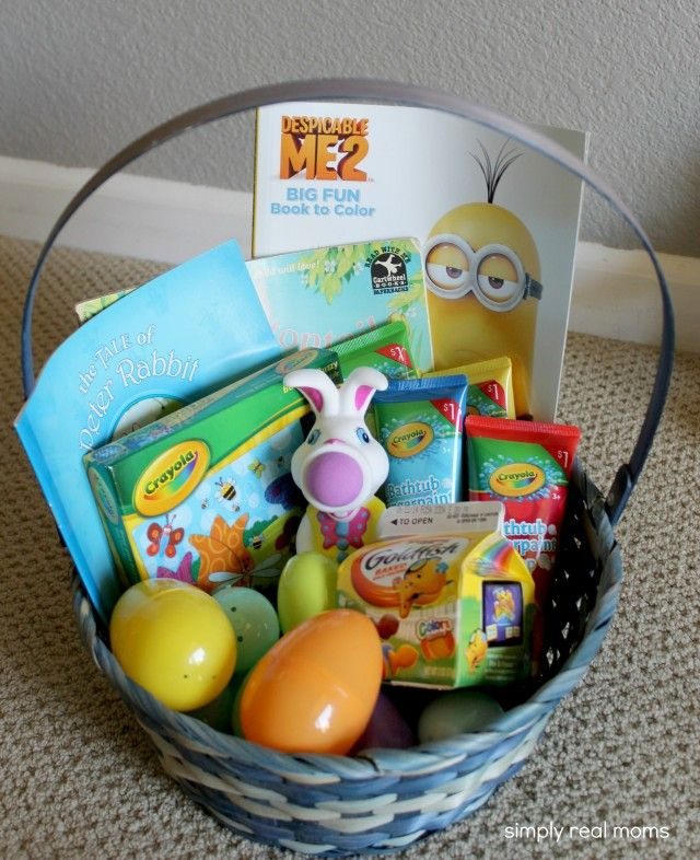 Great candy free easter basket ideas for your kids easter great candy free easter basket ideas for your kids negle Images
