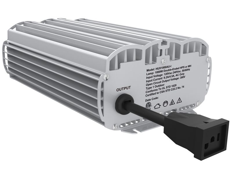 400w 600w 1000w Hps Mh Inline Duct Extractor Fan Ballast For Mh Hps High Pressure Sodium Lights Ballast Hps Grow Lights