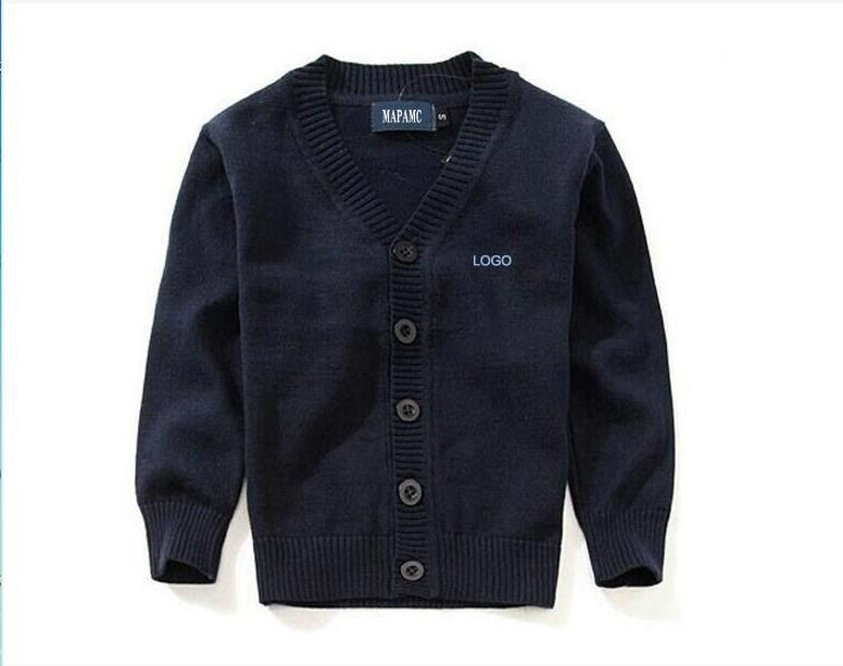92aca5f3963d Free shipping children knit cardigan kids 100% cotton knit jacket ...