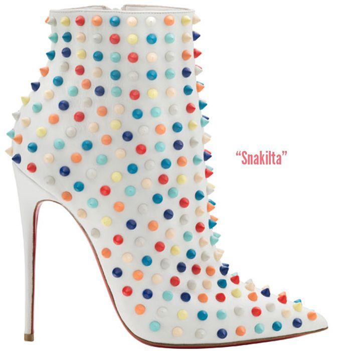christian louboutin white boots