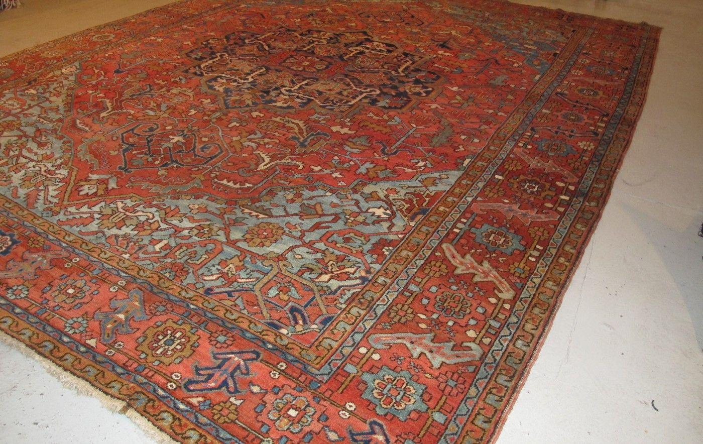 Oversize Heriz Carpet Aaron Nejad