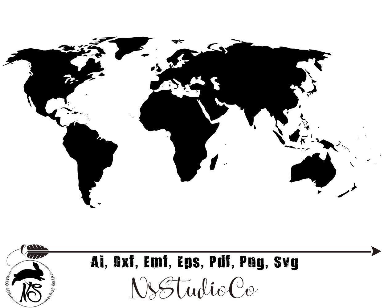 36+ World map clipart png info