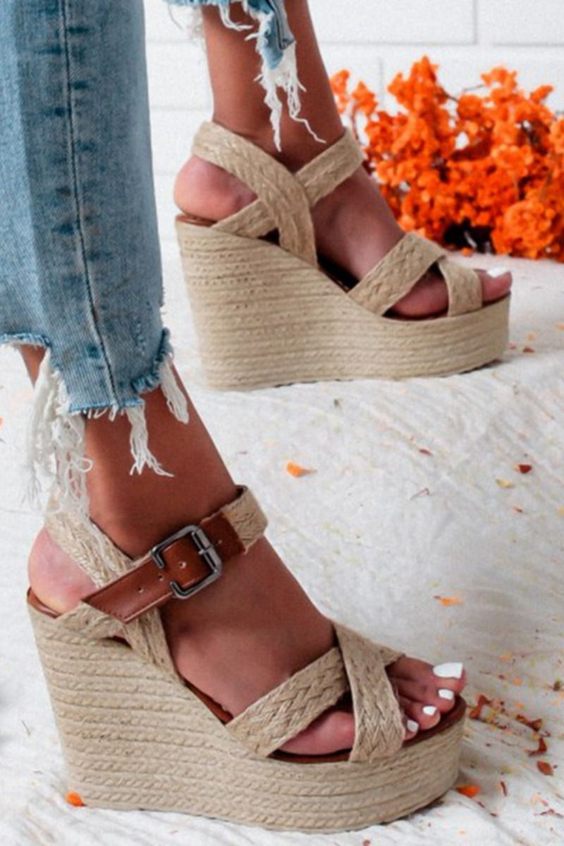 Sandals Platform Wedge Sandals