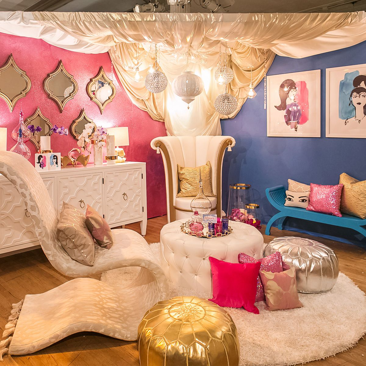 Shimmer And Shine Design On A Dime Benefit Room And Bedrooms - Design on a dime bedroom ideas