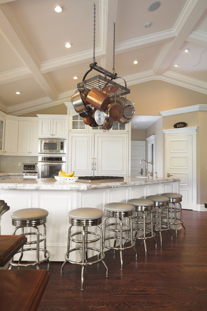 pot rack hung from vaulted ceiling vaulted ceiling kitchen vaulted ceiling living room on kitchen cabinets vaulted ceiling id=75282