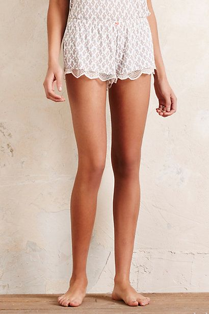 Anthropologie EU Matilda Lace Shorts