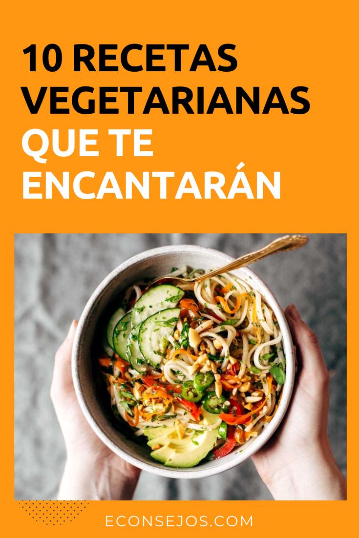 Recetas Vegetarianas Faciles