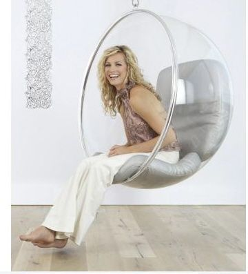 Bubble chair! I want!