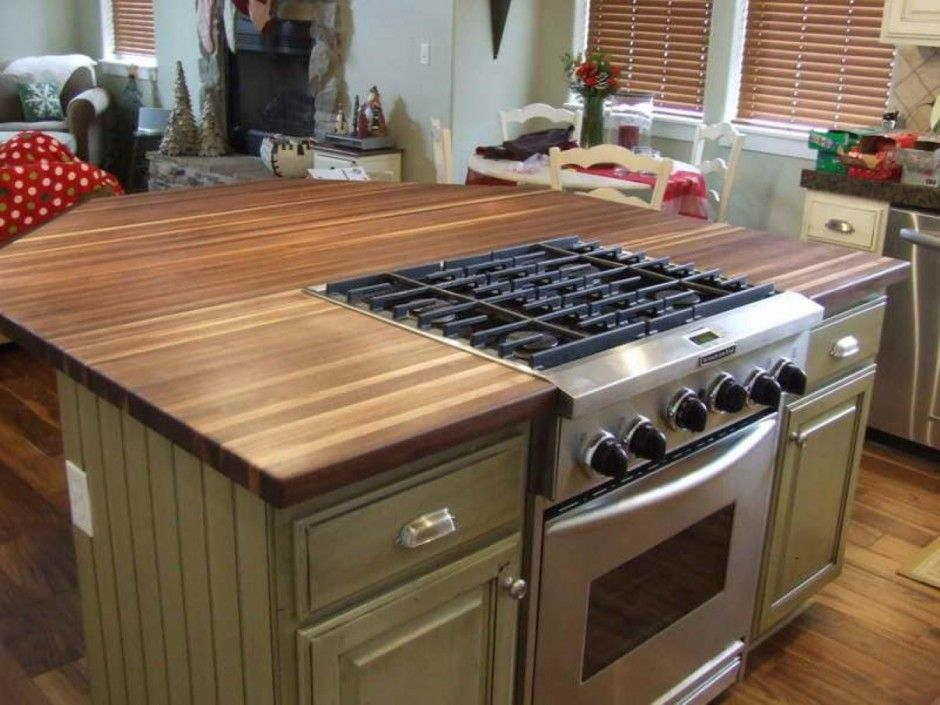Smart Laminate Wood Countertop Idea Plus Small Kitchen