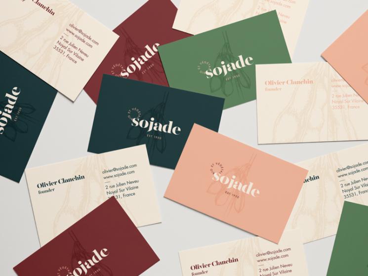 Sojade Business Card Business Card Design Inspiration Business Card Design Business Card Design Creative Business Card Design Inspiration