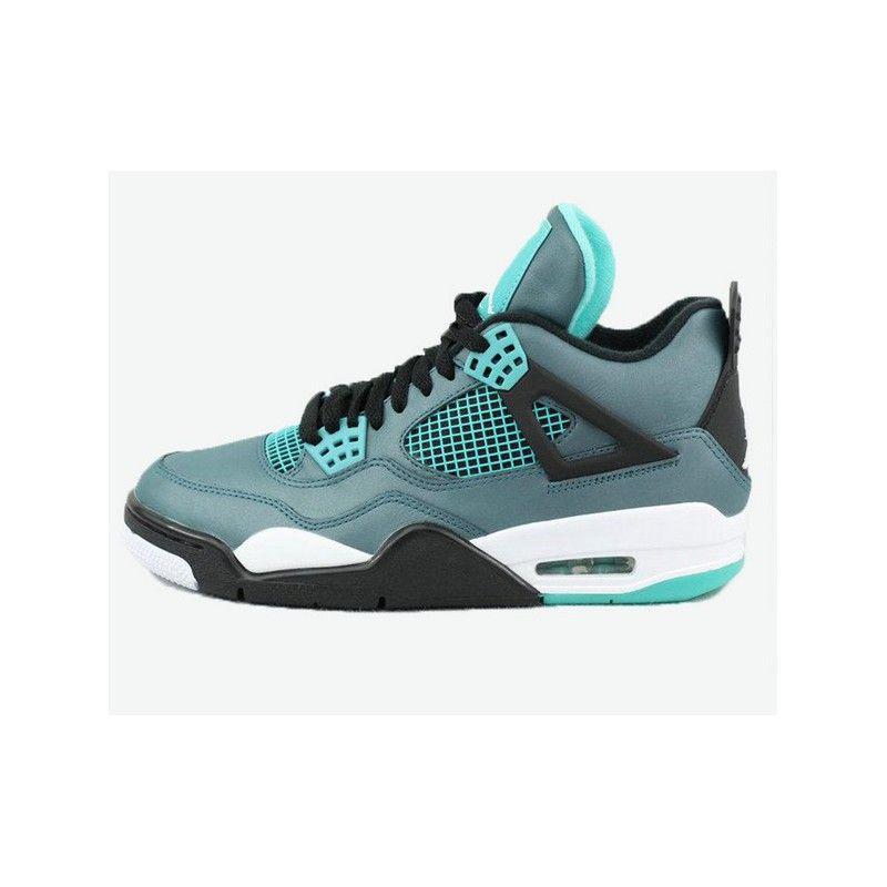 buy online c7929 ab6a1 Nike Men s 10.5 Air Jordan 4LAB1 677690-020 Tropical Teal Retro shoes   eBay