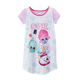 Shopkins Girls' 4-10 Sport Sleep Gown
