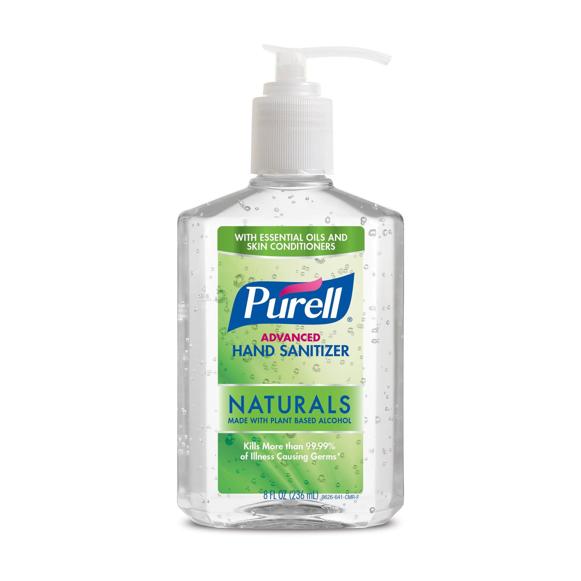 Purell Advanced Hand Sanitizer 8 Fl Oz Natural Hand Sanitizer