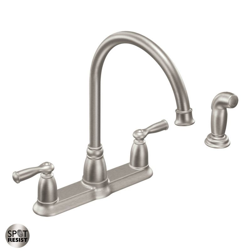 CA87000 High-Arc Kitchen Faucet with Side Spray from the Banbury ...