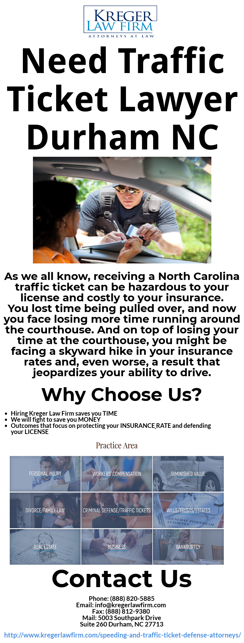Pin By Kreger Lawfirm On Need Traffic Ticket Lawyer Durham Nc