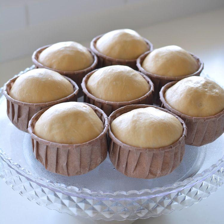 100均紙カップで柴犬カップパン*recipe*   handmade cafe*