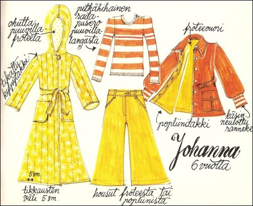 Lovely 70's style sewing instructions!