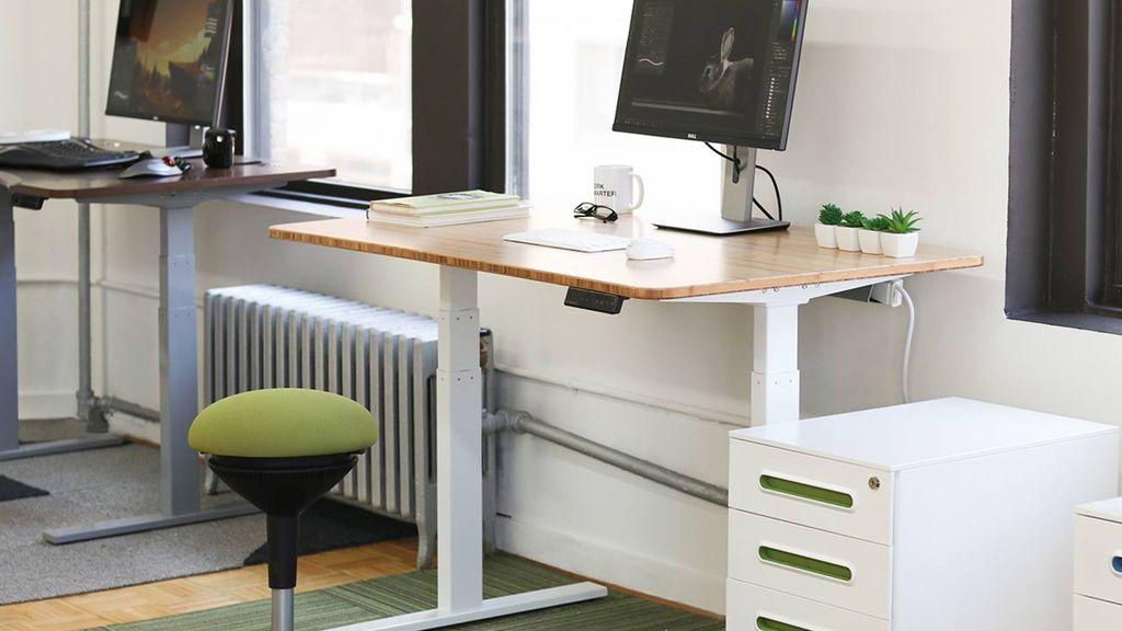 Diy standing desk kit height adjustable diy smart desk
