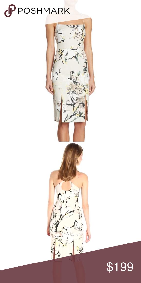 d1aa8555f2fa3 Black Halo Robinson Floral Sheath Ink garden 2 Black Halo Crisscross sheath  dress in inky floral