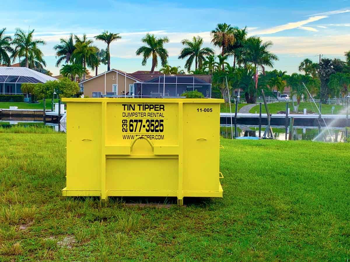 Cape Coral Dumpster Rental Dumpster rental, Rental, Dumpster