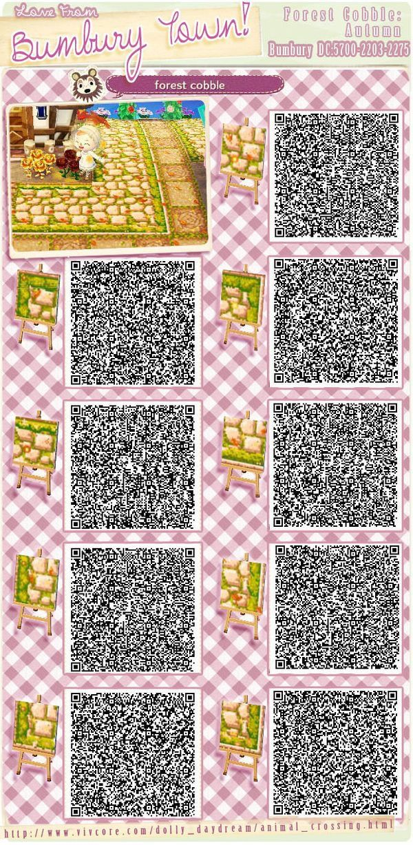 Animal Crossing Qr Code Floor Paths Boden Wege Animal Crossing