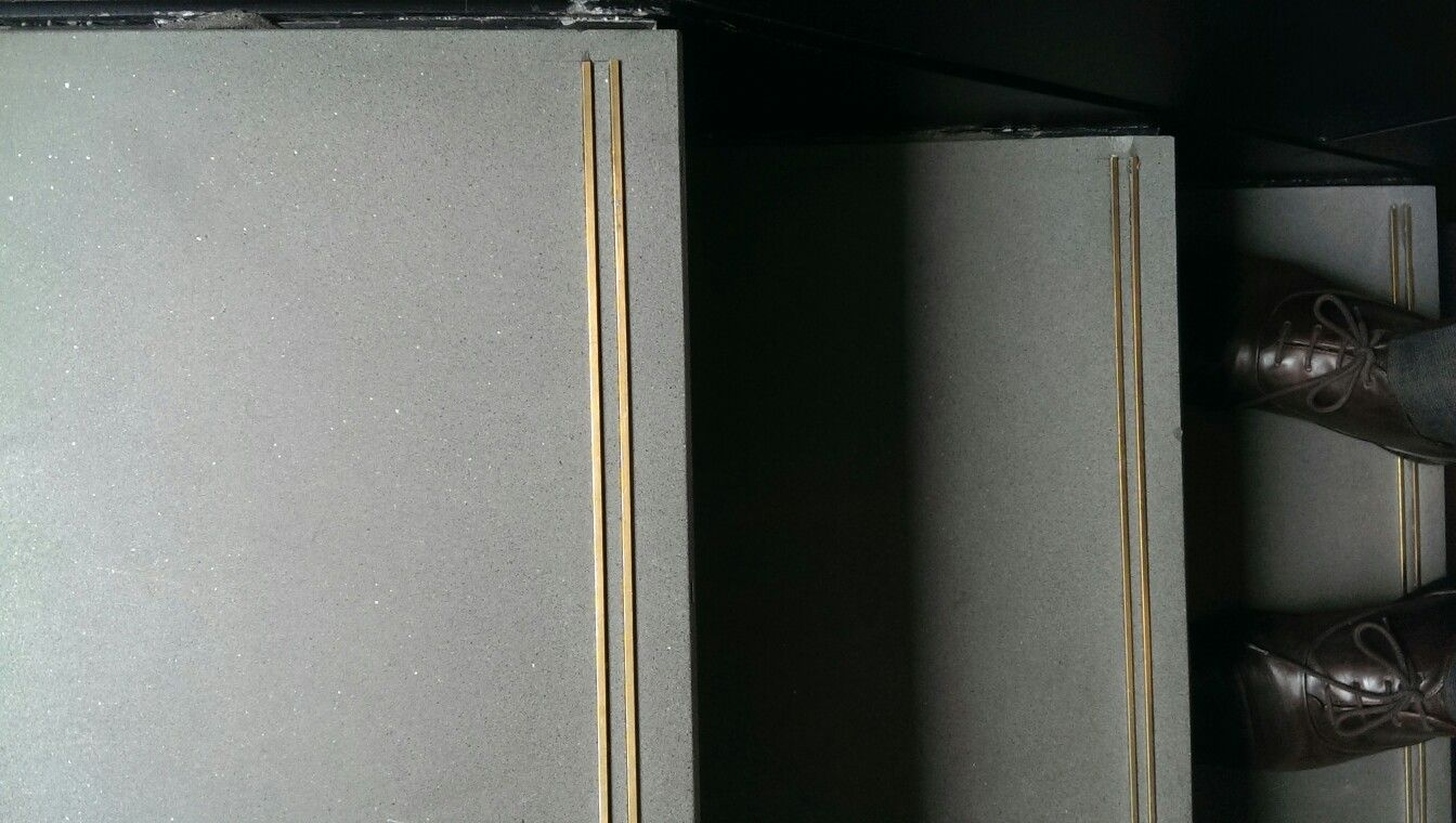 Best Stair Nosing Brass Inlay Details Stair Nosing Front 400 x 300