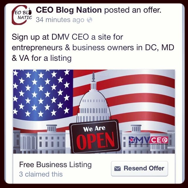 Do You Have A Business In Washington DC Maryland Or Virginia