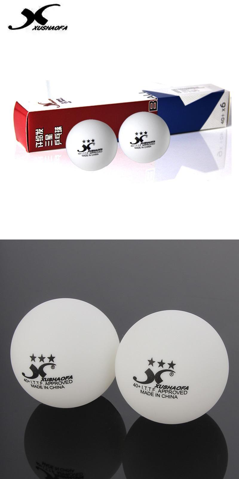Visit To Buy Xushaofa 40 Poly 3 Star Table Tennis Balls Xsf Seamless New Material White Ping Pong Balls Ittf Appro Table Tennis Tennis Balls Ping Pong Balls
