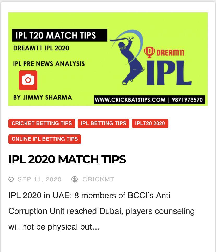 Online cricket ipl betting tips how to bet on stock market crash