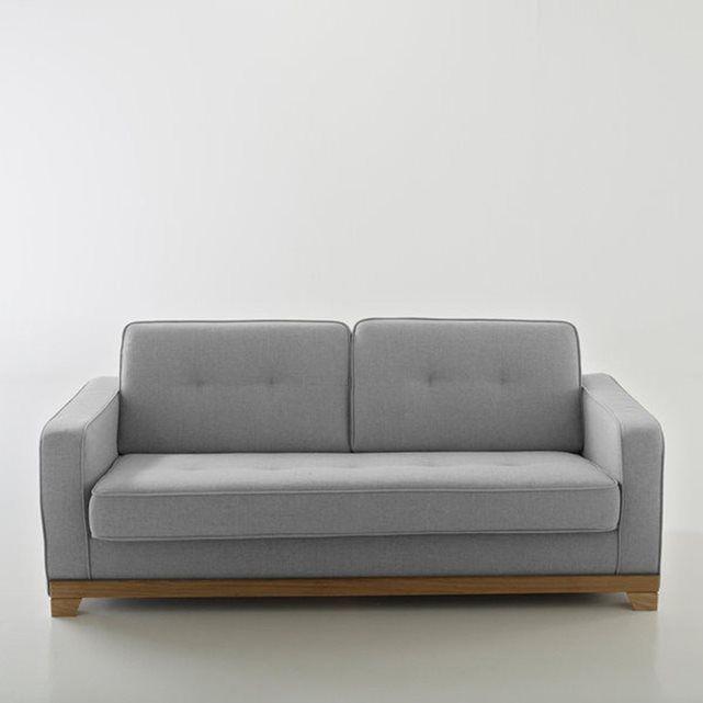 Canape Convertible Polyester Bultex Ajis Com Imagens Decoracao Sala Decoracao Sofa Tufado