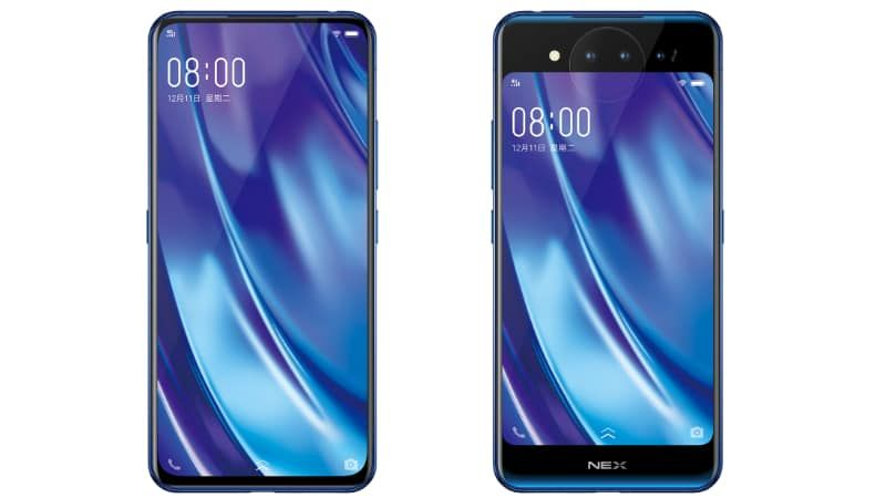 Vivo Nex Dual Screen With 2 Amoled Display Launched Price Specs Samsung Galaxy Phone Smartphone Phone Safe
