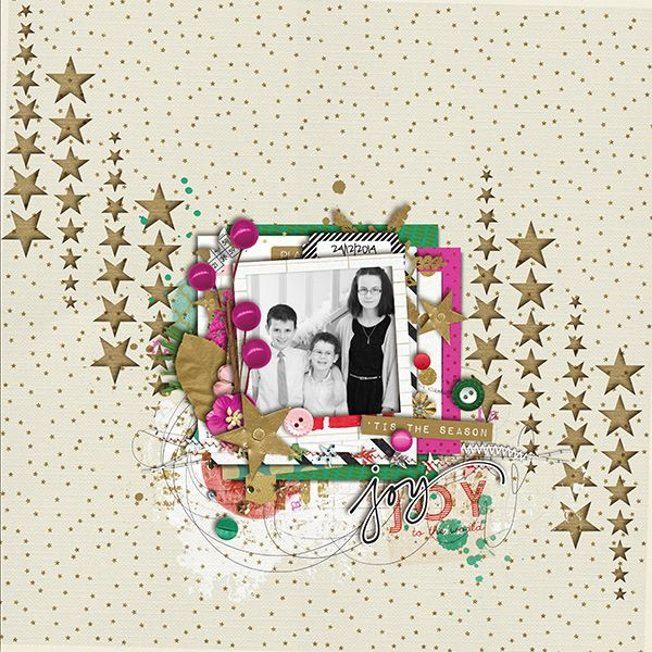 """<p style=""""text-align: center;"""">Oh what fun it is {papers} and {elements} by Sara Gleason</p><br /> <p style=""""text-align: center;"""">MOC template day 9</p><br /> <p style=""""text-align: center;"""">May 2014 Storysteller papers cutouts by just Jaimee</p>"""