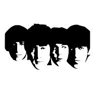 Reusable/&Durable John Lennon Plastic Sheet The Beatles StencilMylar