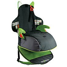 Trunki Boostpak Group 2-3 Car Booster Seat, Black and Green http://www.parentideal.co.uk/john-lewis--baby-car-seats.html