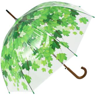 Leaf Canopy Dome Clear Umbrella - Umbrella Tree #clearumbrella