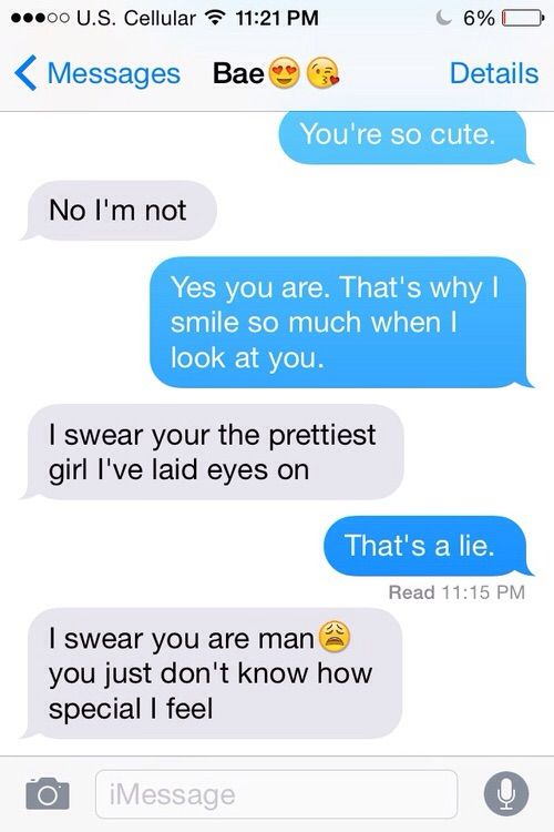 read girlfriends texts