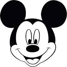Resultado De Imagem Para Desenho Para Colorir Do Mickey Silhueta