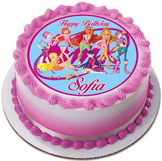торт с днем рождения винкс картинки участок