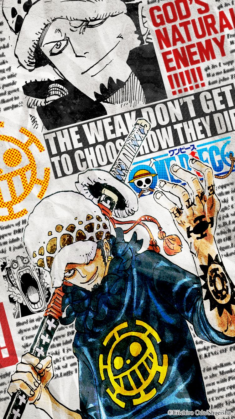 Trafalgar Law One Piece トラファルガー ロー Onepiece イラスト