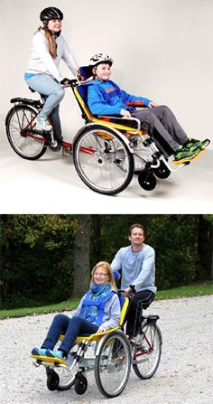 The Duet Wheelchair Bicycle Tandem Spring Into Summer Sale